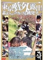 東京野外露出 素人いちゃつきカップル挑発プレイ