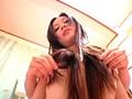 若妻の綺麗な髪コキ髪レ●プ