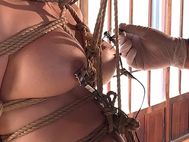 被虐のマゾ女優 新村あかり調教記録 無料エロ画像1