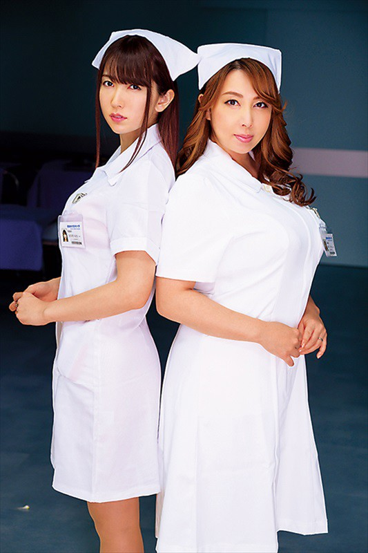 HZGD-147 Studio Married Woman Flower Garden Theater - Married Woman Babes Who Were Driven Insane By Jealousy And Committed Adultery A Nurse Who Lured The Head Nurse's Husband To Temptation Yui Hatano - big image 1