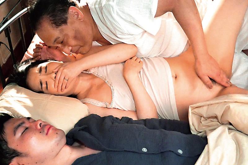 「あなた、ごめんなさい…。」妊娠危険日にムリヤリ義父に種付け中出しされています… 舞原聖 11枚目