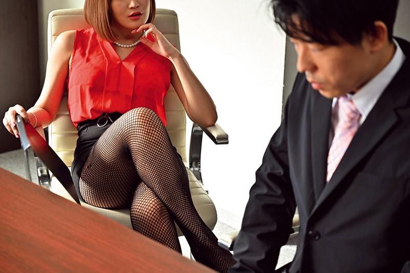 職場の若い男をデカ尻とヒクつくアナルで誘惑し喰い散らかすド淫乱の美巨乳社長妻 藤森里穂 キャプチャー画像 2枚目