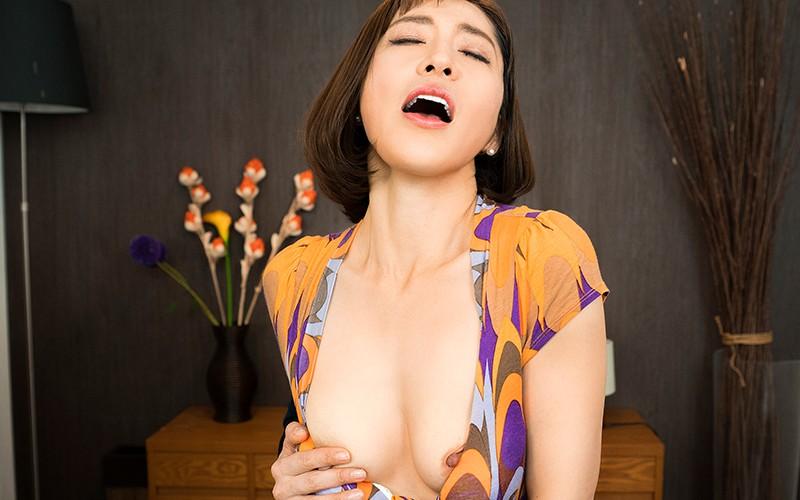【VR】完熟の味〜見せ付ける友達の母〜 嶋崎かすみ 画像4