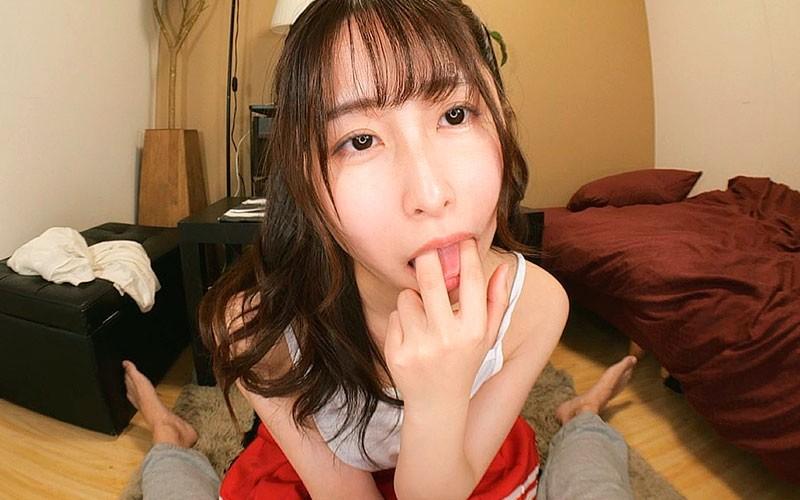 【VR】お兄ちゃんえっちしよ?〜全身性感帯の敏感すぎる妹との合法近親相姦〜成田つむぎ10