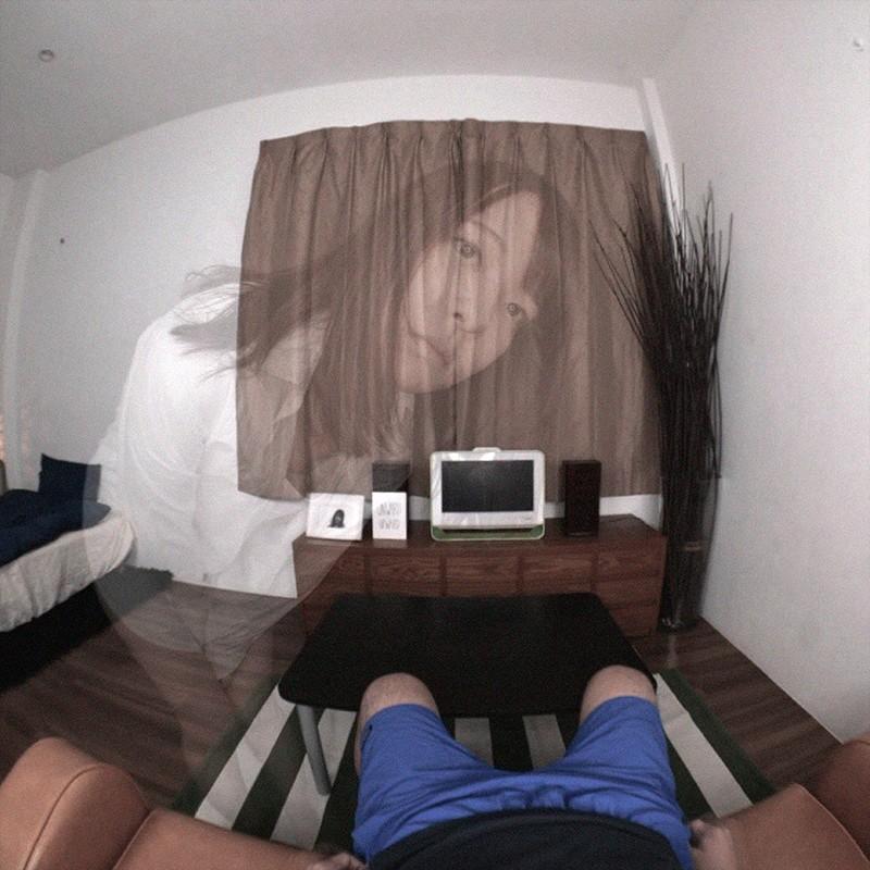 【VR】淫乱幽霊〜死んだ彼女が僕の前に現れて寂しいチ●ポを刺激してくれる〜あべみかこ 画像3
