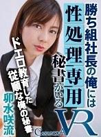 【VR】勝ち組社長の俺には性処理専用秘書がいる 卯水咲流 ダウンロード