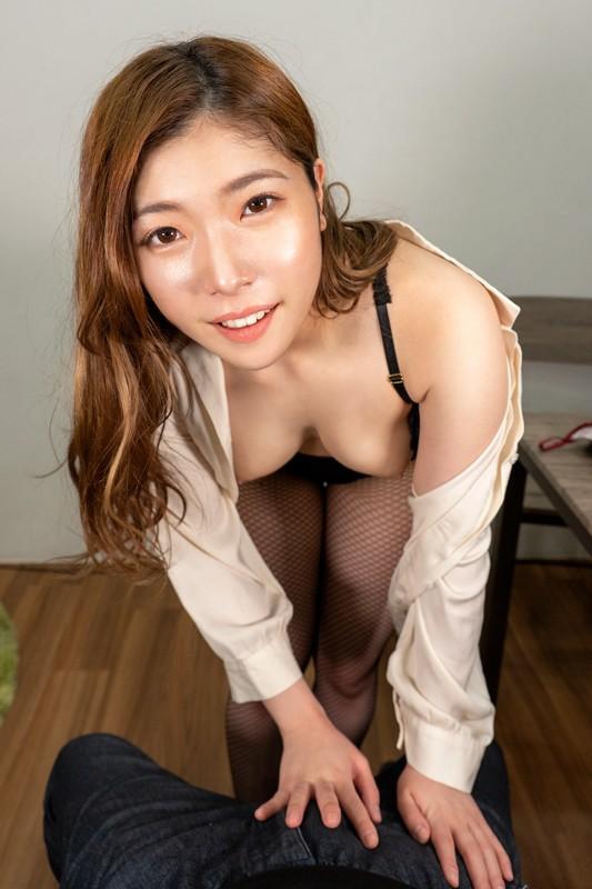 【VR】妻不在、在宅ワーク中の夫に迫る下着訪問販売員 美波沙耶2