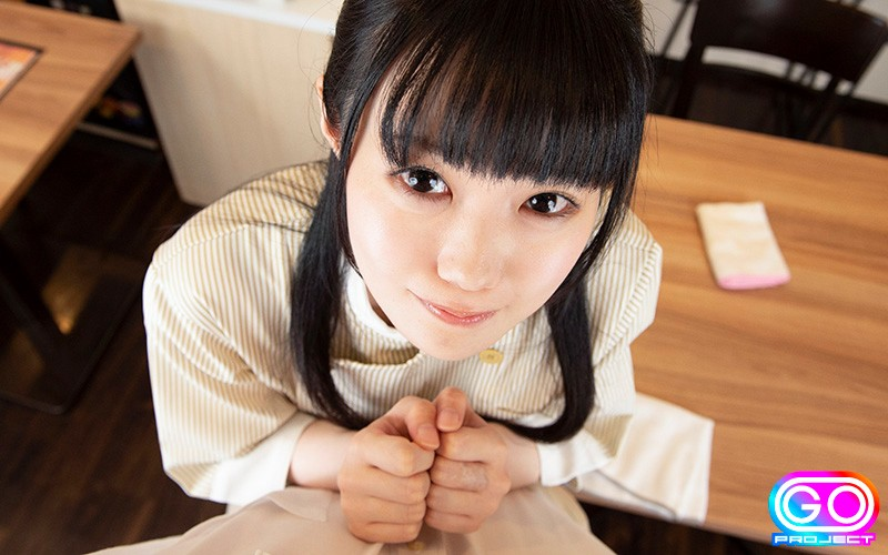 【VR】HQ 劇的超高画質 制服美少女 カフェで仕事中も痴女られまくり! 彼女は俺のチ●ポにドハマり中w 画像10