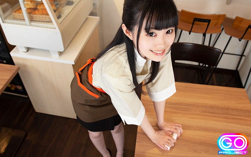 【VR】HQ 劇的超高画質 制服美少女 カフェで仕事中も痴女られまくり! 彼女は俺のチ●ポにドハマり中w 画像11