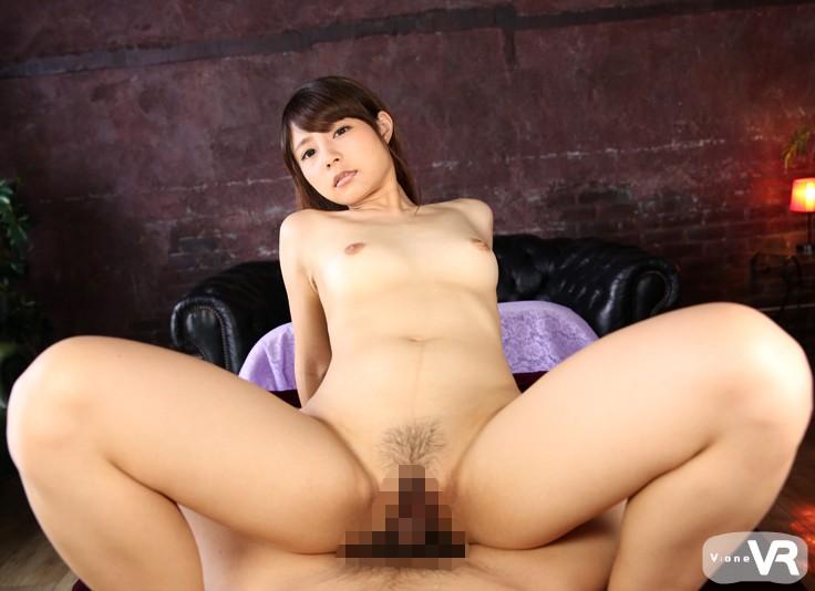 美少女の河南実里とのセックスをVR動画で体験