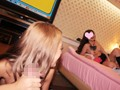 【JK中出しハメ撮り円光】『夢はキャバクラ!』白ギャル援交女子高生が手コキフェラクンニされ4P制服着衣膣内射精される!(6)