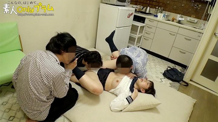 素人セーラー服生中出し(改)136 わかな セーラー服美少女×95cmGカップ×生中出し!!