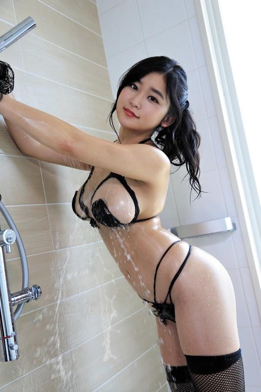 深井彩夏 「ズブ濡れスプラッシュ」 サンプル画像 1