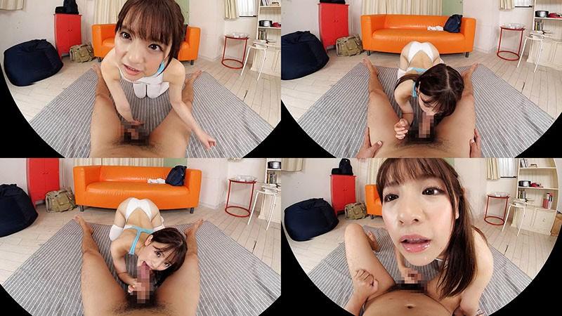 【VR】永瀬ゆい 美少女と競泳水着とミニスカニーソな休日。