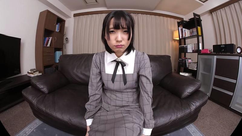 【VR】ボクは今日、日泉舞香とエッチする!つきあい始めて三ヶ月…未だその気になってくれない無口で恥ずかしがり屋な彼女と初エッチ!