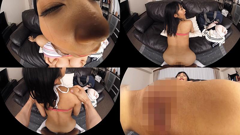 【VR】逢見リカ 彼女が水着に着替えたら…敏感スレンダーパイパン巨乳に興奮度MAX!豪快大絶叫セックス!
