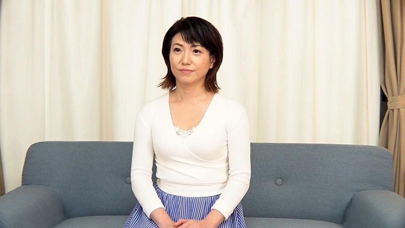 「アラフィフだってまだまだセックスしたいの。」 蓄積した性欲を解放するため、勇気を出してAV出演する美熟女妻 恵美さん 56歳 画像1