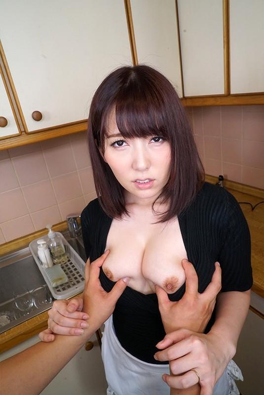 【VR】上司の奥さんと内緒のキッチンSE...