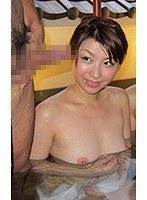 混浴風呂で勃起チンポ見せつけて人妻ナンパ 加藤ツバキ