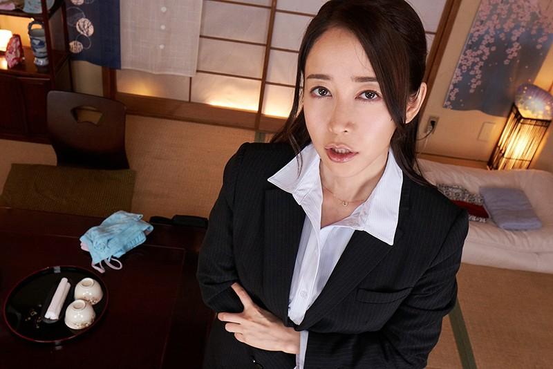 【VR】腰の動きが普通じゃない女上司が不条理にち●ぽを食い尽くす出張夜。出張先で騎乗位×馬乗り杭打ちピストンで犯●れ続ける!篠田ゆう