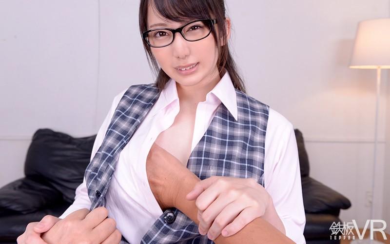 【VR】HQ60fps 美人女子銀行員 横領着服!上司に弱みを握られ脅されて強引フェラ&中出し