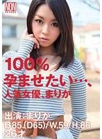 100%孕ませたい…、人気女優、まりか ダウンロード