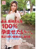 あぁ、義姉さんを100%孕ませたい…、僕より若い義姉さん、ありさ 愛沢有紗