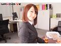 【VR】可愛いお顔が急接近!バックで疲れる彼女の淫顔【咲野...sample2