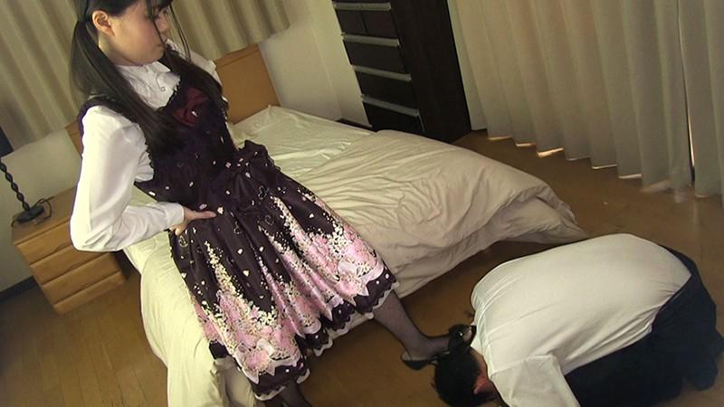 夕焼けスリップ〜少女スリップM男調教 生田みく 1枚目