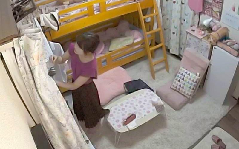 【VR】女子寮潜入 女子大生オナニー観察