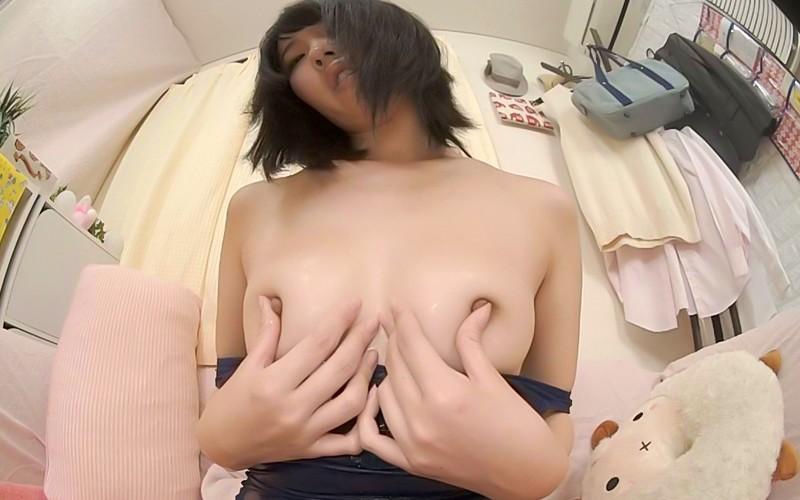 【VR】モザイク無し!!ワレメ食い込みオナニー