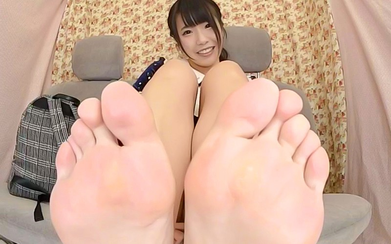 【VR】足指舐め