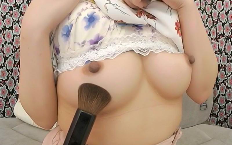 【VR】クローズアップ勃起乳首