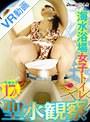 【VR】海水浴場女子トイレ 聖水観察