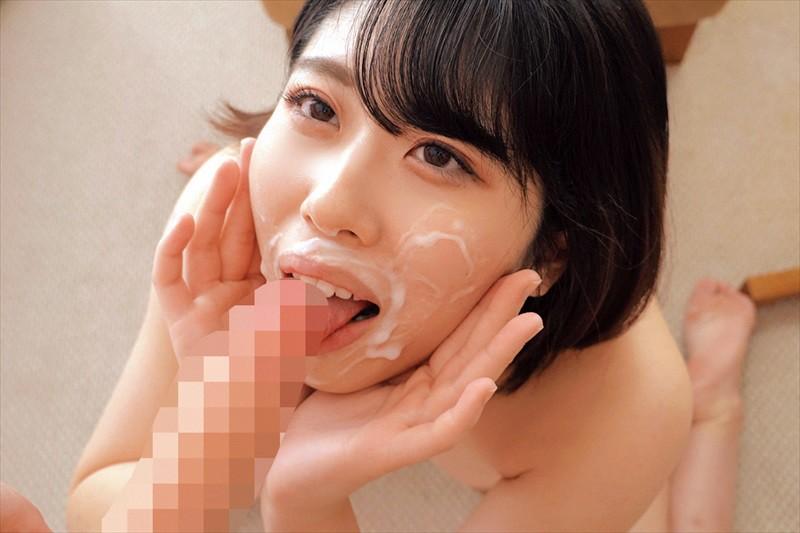 素人女子大生が笑顔でおかわり顔射!!大量のドピュドピュ精子を顔で受け止めオマ○コは赤面発情!そのまま連続おしゃぶり!真っ白な汚れ顔で激イキSEX!! 画像2