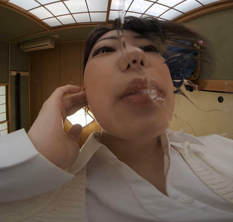 【VR】顔中ペロンペロンの唾だらーんのベッタベタ 32