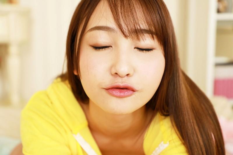 愛瀬るかのキス顔