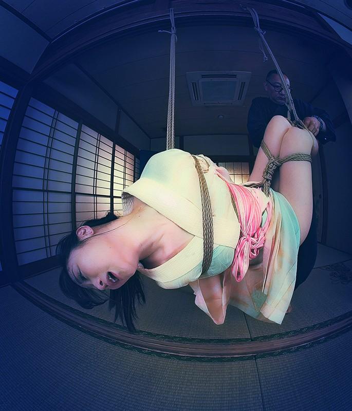 【VR】How to 緊縛VR01 '後手縛り'+'膝下吊り腰捻り逆さ' 川上ゆう 画像14