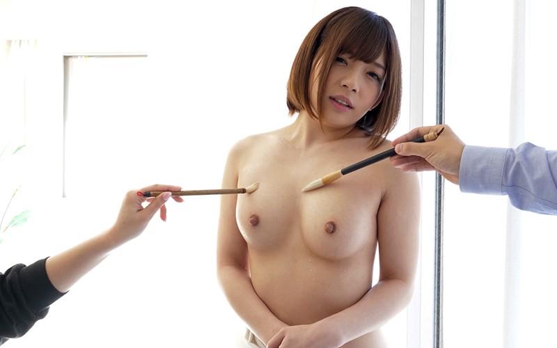 くすぐりプレイ 〜濡れた筆でいじくりマッサージ〜 麻里梨夏 10枚目