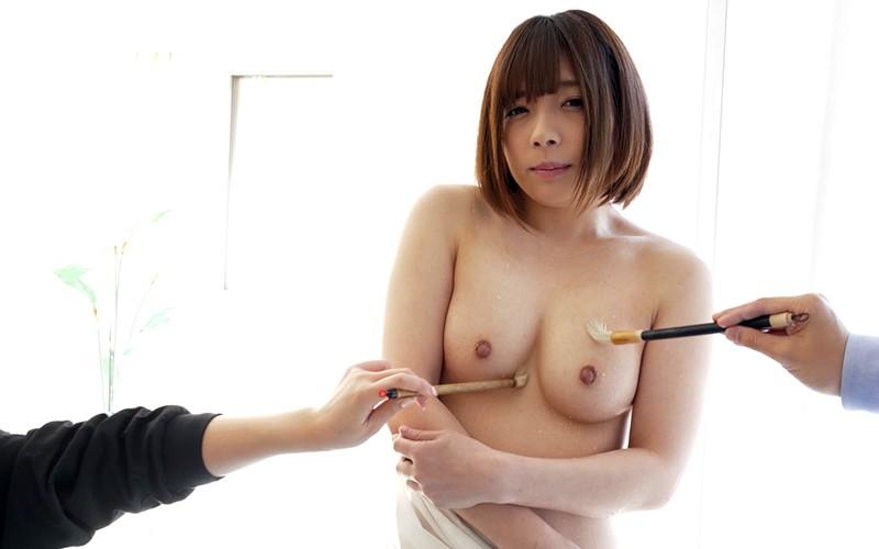 くすぐりプレイ 〜濡れた筆でいじくりマッサージ〜 麻里梨夏 12枚目