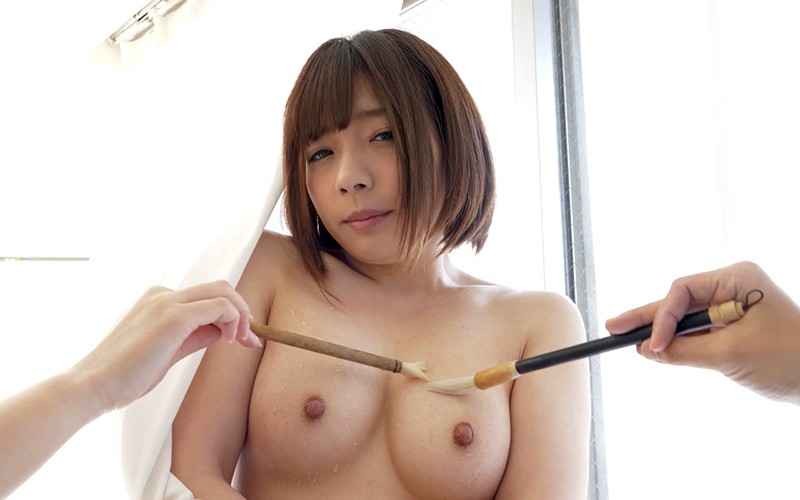 くすぐりプレイ 〜濡れた筆でいじくりマッサージ〜 麻里梨夏 16枚目
