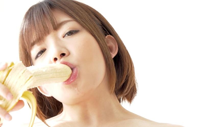舌ベロフェチ〜バナナ舐め〜 麻里梨夏 15枚目