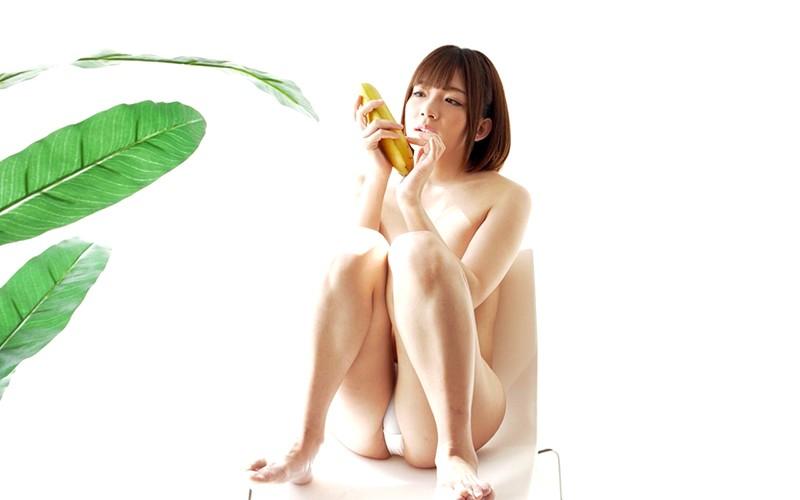 舌ベロフェチ〜バナナ舐め〜 麻里梨夏 6枚目