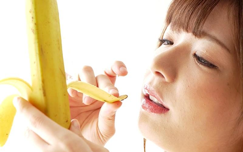 舌ベロフェチ〜バナナ舐め〜 麻里梨夏 7枚目