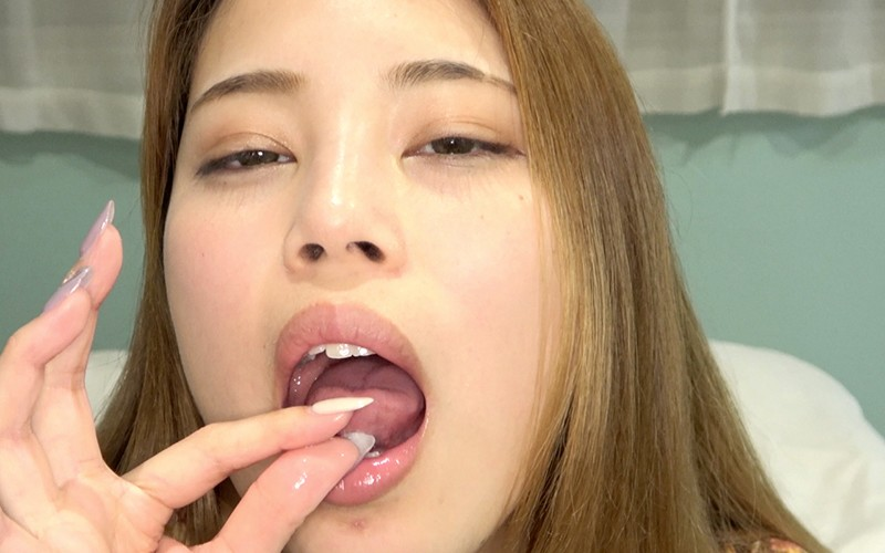 舌ベロフェチ 〜舌ベロ観察・唾垂らし乳首オナニー〜 森山なつか