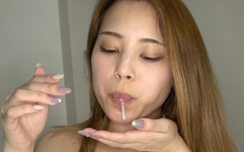唾フェチプレイ 〜唾観察・歯磨き・唾溜め〜 森山なつか