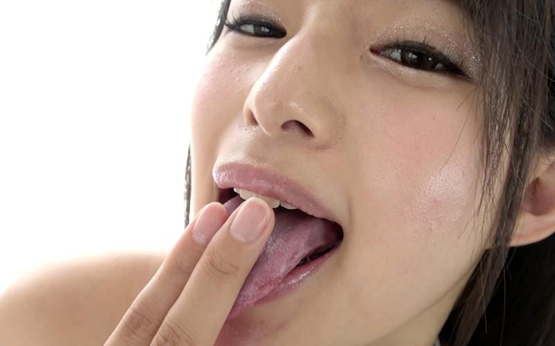 舌フェチ 〜指舐め&極エロエアーセックス〜 渚みつき 3枚目