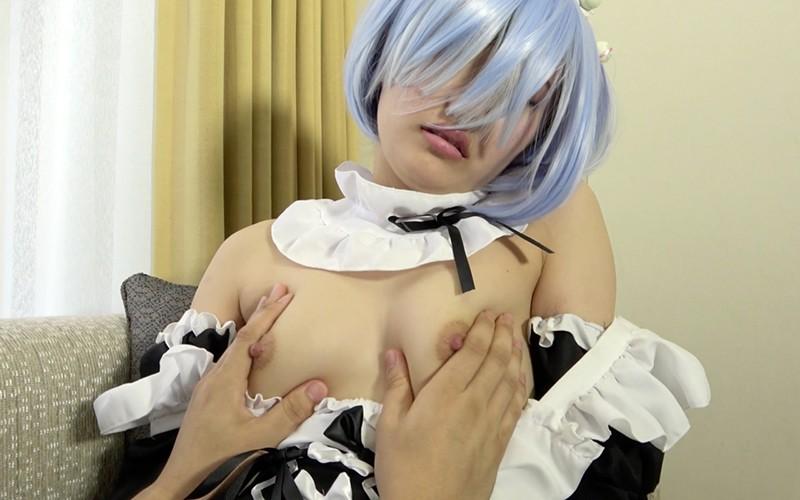 コスプレプレイ 〜 リゼロのレ●をクリ&乳首攻め!〜 里仲ゆい 13枚目