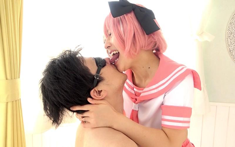 顔舐めプレイ 〜ベロキス&顔舐め&鼻フェラ〜 宮沢ちはる 画像12