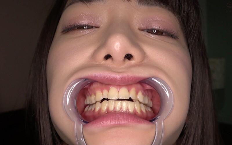 歯フェチ 〜歯・口内観察&クリスタル棒舐め〜 有村のぞみ3